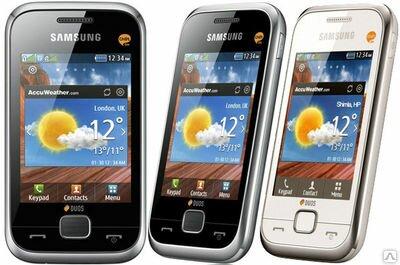 Как настроить интернет на Samsung Champ Deluxe GT-C3312.