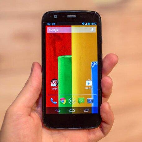 Motorola Moto G на Android