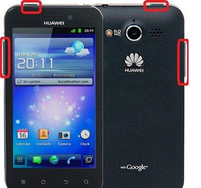 Huawei Honor U8860 hard reset, сброс настроек до заводских