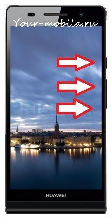 Huawei Ascend P6 Hard Reset, убрать графический ключ, сбросить настройки