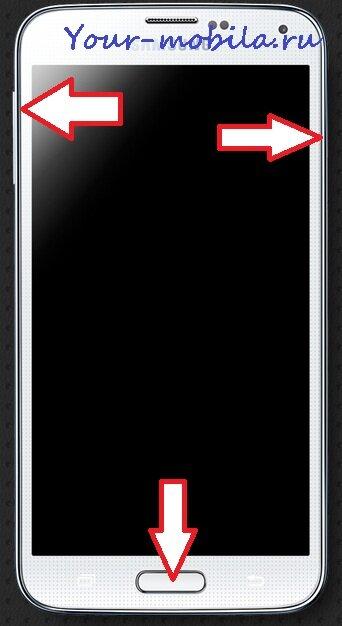 Samsung Galaxy S5 Hard Reset, Снять графический ключ, Сброс настроек