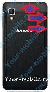 Lenovo P780 hard reset, сброс настроек, убрать графический ключ