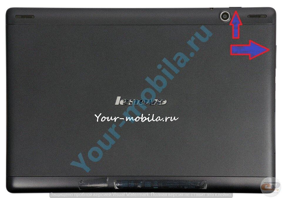 Lenovo S6000 hard reset, сброс настроек, убрать графический ключ