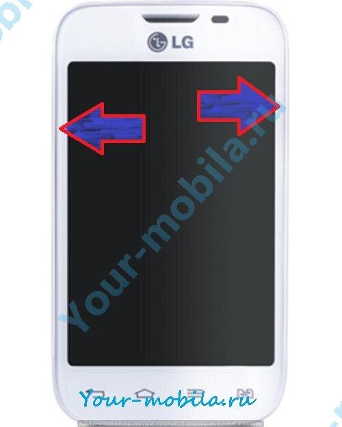 LG Optimus L40 Dual D170 hard reset, снять графический ключ, сброс настроек